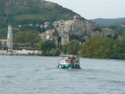 auf der Rhone vor Avignon