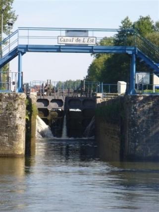 Ende des Canal de l'Est