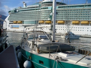 """Independance of the Seas"" in Ajaccio"
