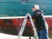 Reinigen des Wasserpasses