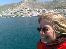 Margrit in Kalymnos