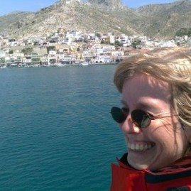 Margrit in Kalymnos
