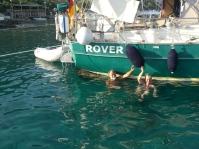 Karacaören, alle 2 Stunden ins Wasser