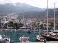 Kalkan Stadthafen