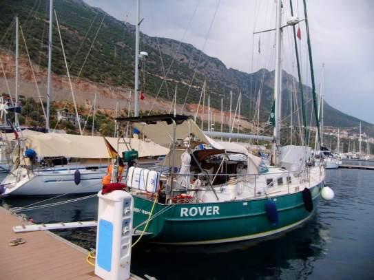 Rover und Agila in Kas Marina