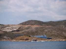 Blue Star Ferries verlässt Kastellorizon