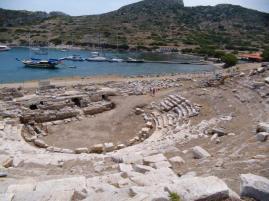 2000 Jahre alter Hafen in Knidos