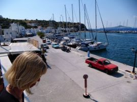 Hafen in Palli/Nisyros