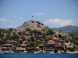 Kaleköy mit Castle