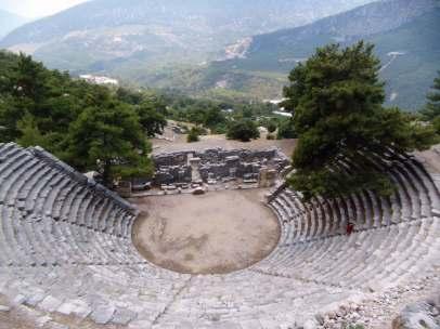 Arykanda, Theater von oben