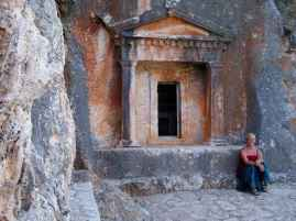 Felsengrab von 400 v. Chr.