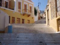 Treppe in Symis Oberstadt