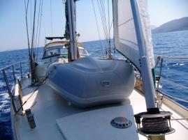 ein letztes Mal segeln