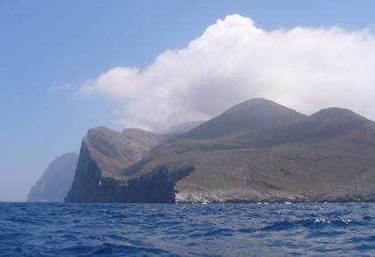 Nordostecke von Amorgos