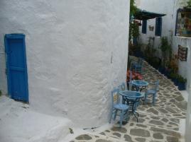 downtown Chora, Amorgos