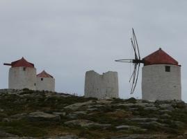 ehemalige WIndmühlen