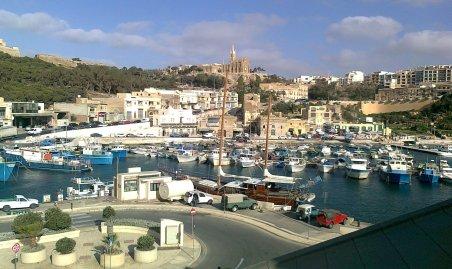 Fischereihafen in Mgarr, Gozo