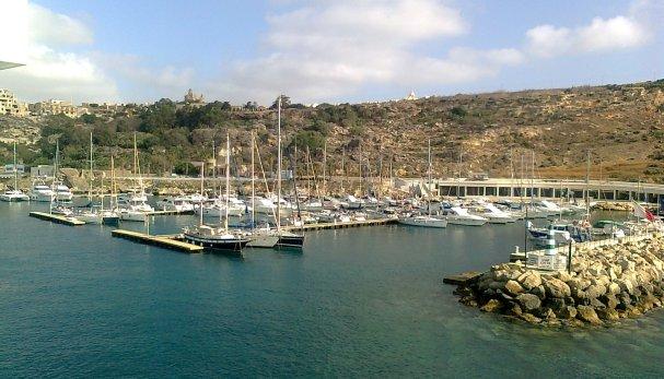Gozo Marina, Rovers Ruheplatz für 2 Monate