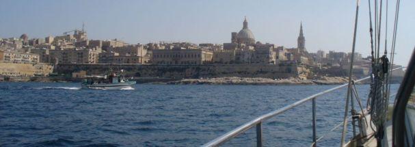 wir laufen La Valletta an