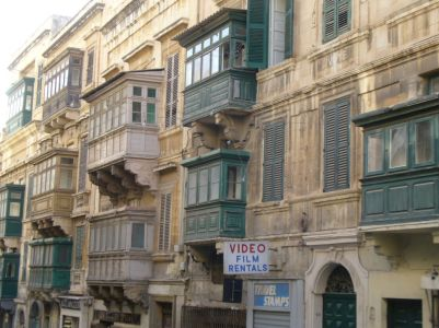 Balkone in Valletta