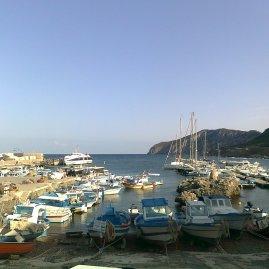 Hafen Scala Nuova von Marettimo