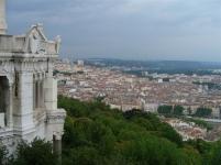 Blick auf Lyon von der Basilika