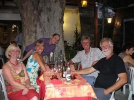 Abendessen in Avignon