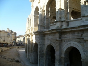 Amphitheater in Arles