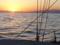 Sonnenaufgang über Korsika