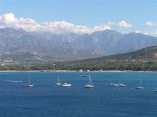 Ankerfeld Calvi/Korsika