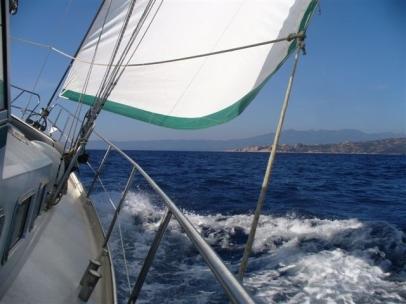 Cala Volpe ahead