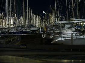 unsere neue Nachbarschaft bei Nacht
