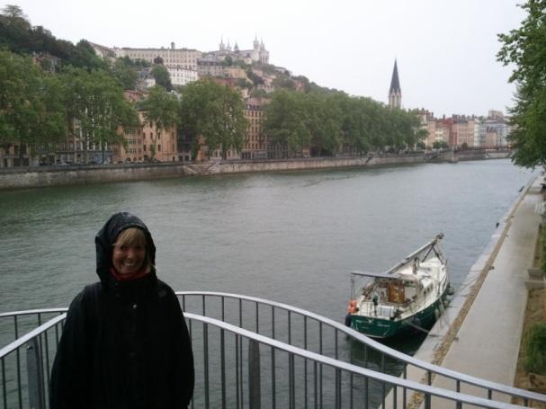 unser Platz in Lyon