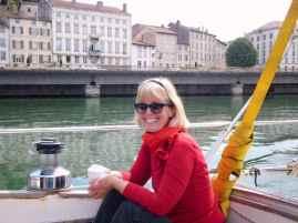 Margrit fährt durch Vienne