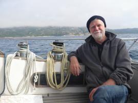 Skipper gleichfalls entspannt