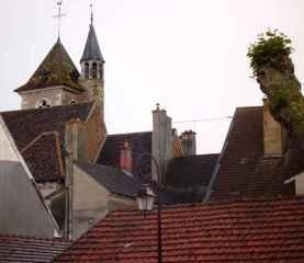 Dächer von Saint Jean de Losne