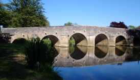 Brücke über die Ouche