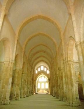 Abbaye de Fontenaye, Eglise