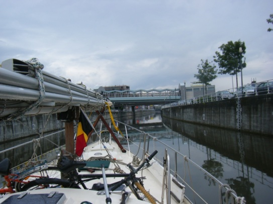Kanal durch Brüssel