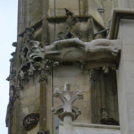 Wasserspeier an der Kathedrale
