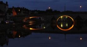 Brückenbeleuchtung Pont sur Yonne