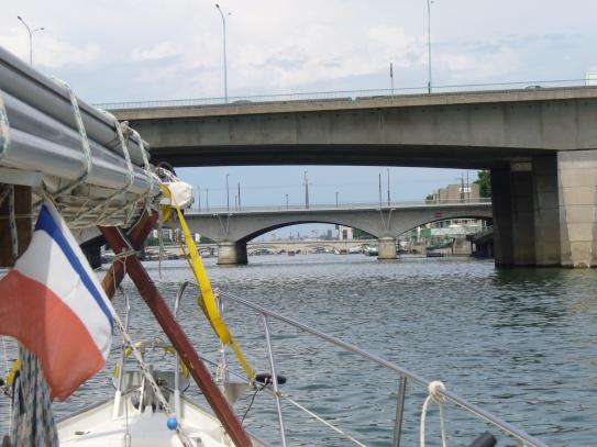 ... die Abstände zwischen den Brücken kürzer
