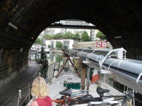 Eingangsschleuse nach Paris-Arsenal