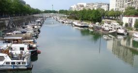 Hafen zwischen Seine und Place de la Bastille