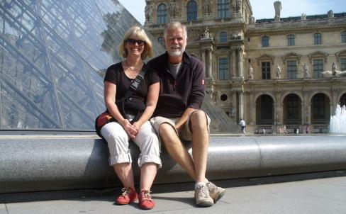 Innenhof zum Louvre
