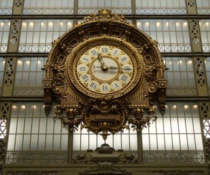Bahnhofsuhr im Musée D'Orsay