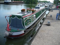 englisches Narrowboat