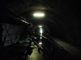 im Tunnel von Lesdins