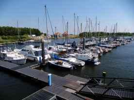 Hafen von Tholen