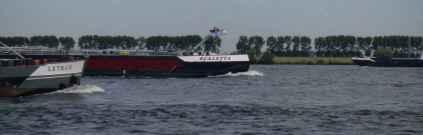 dichter Schiffsverkehr